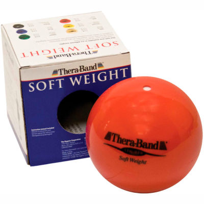 Thera-Band™ Soft Weights™ Ball, Red, 1.5 kg/3.3 lb.