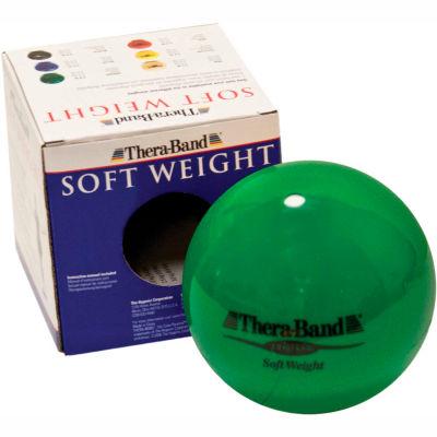 Thera-Band™ Soft Weights™ Ball, Green, 2 kg/4.4 lb.