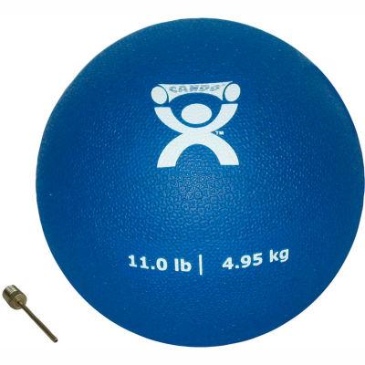 "CanDo® Soft Pliable Medicine Ball, 11 lb., 7"" Diameter, Blue"