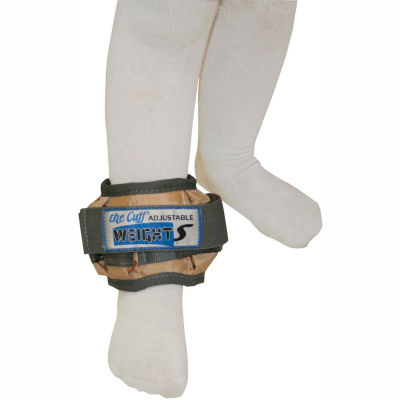 Cuff® Adjustable Pediatric Ankle Weight, 2 lb., Tan