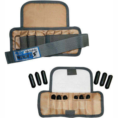 Cuff® Adjustable Pediatric Wrist Weight, 2 lb., Tan, 1 Pair
