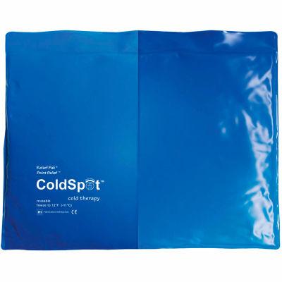 """Relief Pak® ColdSpot™ Reusable Blue Vinyl Cold Pack, Standard 11"""" x 14"""", 12/PK"""
