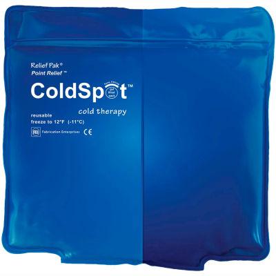 """Relief Pak® ColdSpot™ Reusable Blue Vinyl Cold Pack, Quarter Size 5"""" x 7"""""""