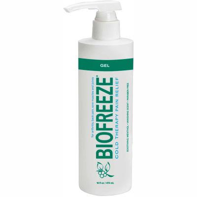 BioFreeze® Cold Pain Relief Gel, 16 oz. Dispenser Bottle