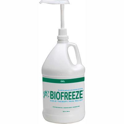 BioFreeze® Cold Pain Relief Gel, 1 Gallon Dispenser Bottle, Case of 4
