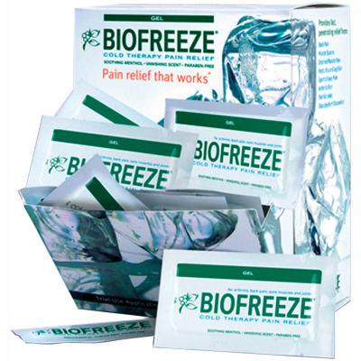 BioFreeze® Cold Pain Relief Gel, 5 Gram Packet, Dispenser of 100 Packets