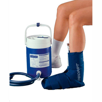 AirCast® CryoCuff® Ankle Cuff with Gravity Feed Cooler