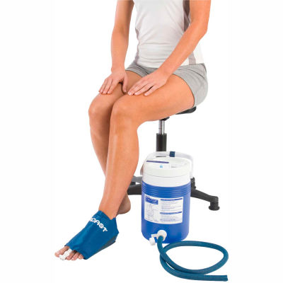 AirCast® CryoCuff® Medium Foot Cuff with Gravity Feed Cooler