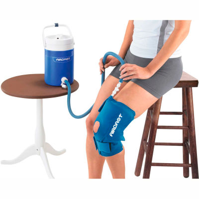 AirCast® CryoCuff® Medium Knee Cuff with Gravity Feed Cooler