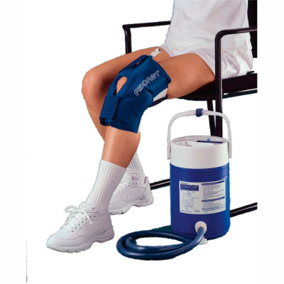 AirCast® CryoCuff® Large Knee Cuff with Gravity Feed Cooler