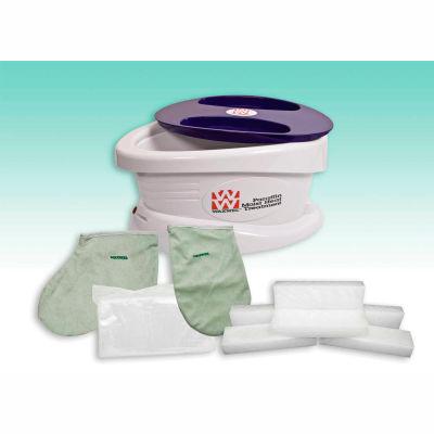 WaxWel® Paraffin Bath with 6 lb. Wintergreen Paraffin, 100 Liners, 1 Mitt and 1 Bootie