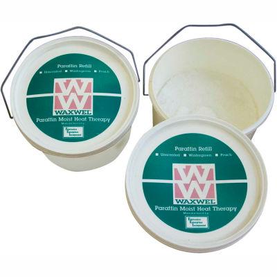WaxWel® Paraffin Bath Refill, 3 lb. Beads in Bucket, Rose Blossom Fragrance