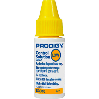 Prodigy® Control Solution, Low, 4 ml