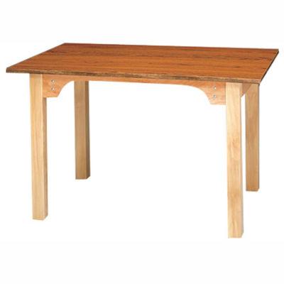 "OT Work Table with Apron Cutout, 30""L x 30""W x 30""H"