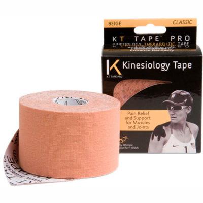 """KT® Kinesiology Tape, Uncut, 2"""" x 16 ft., Beige, Set of 4 Rolls"""