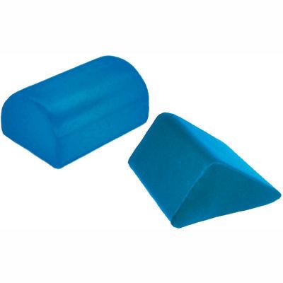 "Skillbuilders® Positioning Knee Saddle Crescent, 12""L x 22""W x 8""H, Blue"