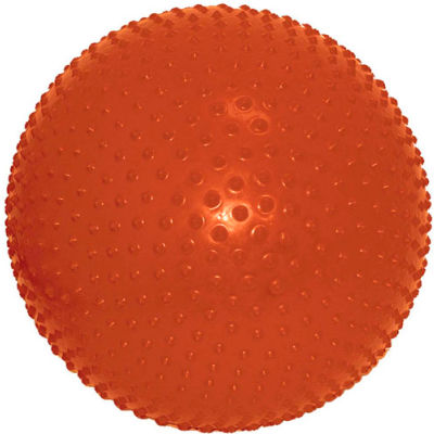 "CanDo® Inflatable Exercise Sensi-Ball, Orange, 22"" (55 cm)"