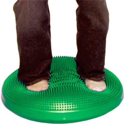 "CanDo® Inflatable Vestibular Seating/Standing Disc, 60 cm (24""), Green"