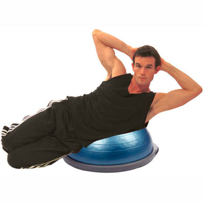 """BOSU® Home Balance Trainer, 25"""" Dome with Pump, Owner's Manual, Training Manual and DVDs"""