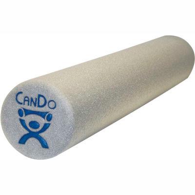 """CanDo® Gray Plus Foam Roller, 6"""" Dia x 12""""L"""