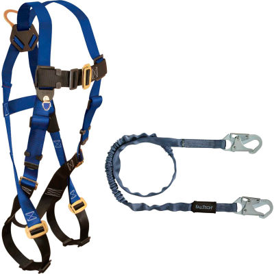 FallTech® Harness/Lanyard Combination Set