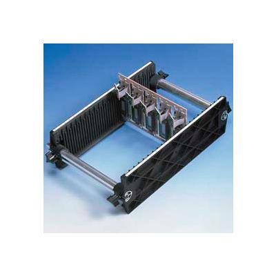 "Fancort Karry-All Model 76 Adjustable Conductive Small PCB Rack, 9""W x 13-1/4""D x 4""H"