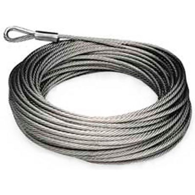 Zip-A-Duct™ Galvanized Plastic Coated Cable - 82 Foot Roll