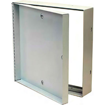 The Williams Brothers AT 600 12X12 Steel/Accoustical Tile Access Door, Cam Latch
