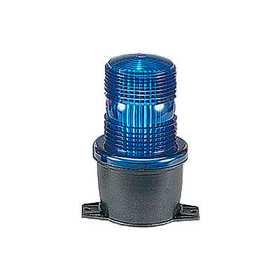 Federal Signal LP3P-120B Strobe, pipe mount, 120VAC, Blue
