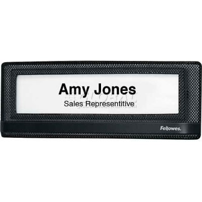 Fellowes® Mesh Partition Additions™ Name Plate - Pkg Qty 6