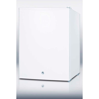 Summit FF28LWH Compact Refrigerator 2.37 Cu. Ft. White