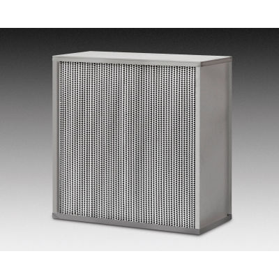 "24""W x 24""H x 11-1/2""D HEPA Filter - 99.97% Efficient - Std. Capacity - Global Industrial™"