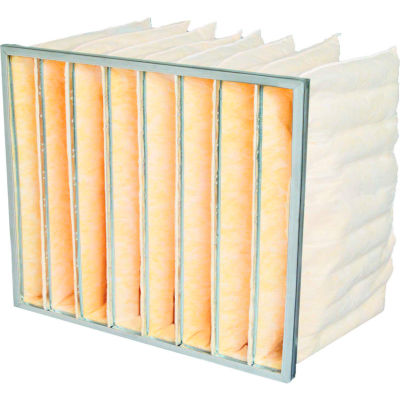 "20""W x 24""H x 22""D 8 Pocket MERV 15 Air Filter - Global Industrial™ - Pkg Qty 4"