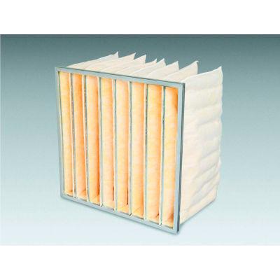 "12""W x 24""H x 15""D 3 Pocket MERV 8 Air Filter - Global Industrial™ - Pkg Qty 4"