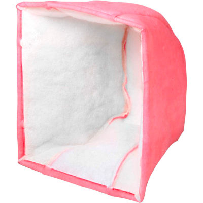 "25""W x 20""H x 20""D Cube MERV 9 Air Filter - 3 Pocket -Global Industrial™ - Pkg Qty 5"