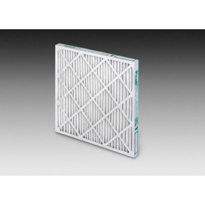 "Global Industrial™ LEED Compliant Pleated Air Filter, MERV 13, 24""Wx24""Hx4""D - Pkg Qty 6"