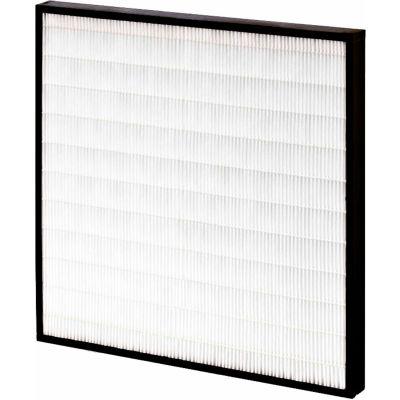 """24""""W x 18""""H x 2""""D Mini Pleated MERV 15 Air Filter - Global Industrial™ - Pkg Qty 6"""