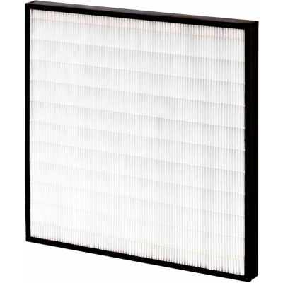 """20""""W x 20""""H x 2""""D Mini Pleated MERV 15 Air Filter - Global Industrial™ - Pkg Qty 6"""