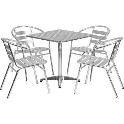 Flash Furniture Square Aluminum Outdoor, What Is Flash Furniture