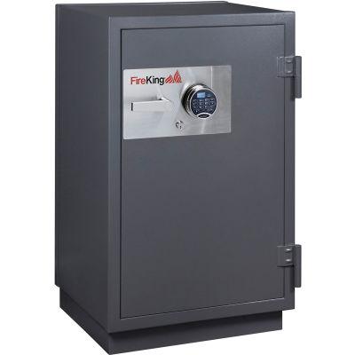 FireKing 2 Hr Fire Resistant Safe KR3115-2GRE 25-1/2 x 22-7/8 x 41-1/8 Electronic, Key Lock Graphite