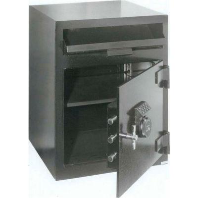 "FireKing Mail Box Drop Safe MB2020-FK1 20-1/2""W x 20""D x 26-1/2""H Electronic Lock 3.01 Cu. Ft. Black"