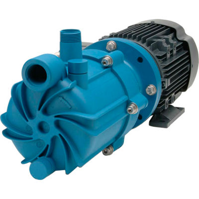 Finish Thompson SP10P-3-M219 Poly Self-Priming Mag-Drive Pump 1HP,208-230/460V, 3 Phase,55 GPM