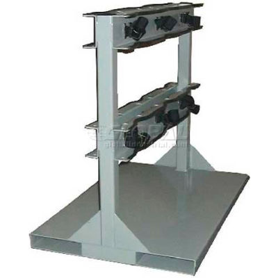 """Forklift Pallet Stand, 24""""W x 36""""D x 32""""H, 6 Cylinder Capacity"""