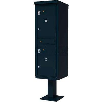 Valiant Outdoor Parcel Locker, Black