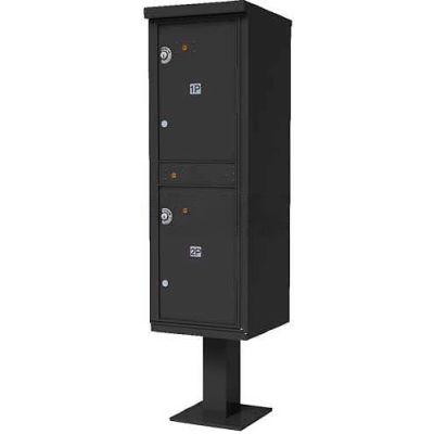 Valiant Outdoor Parcel Locker, Dark Bronze