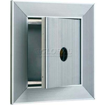 Recessed Key Keeper Locker, Anodized Aluminum