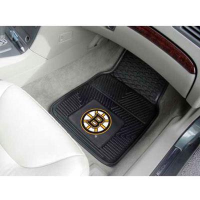 "NHL - Boston Bruins - Heavy Duty Vinyl 2 Piece Car Mat Set 17""W x 27""L - 10497"