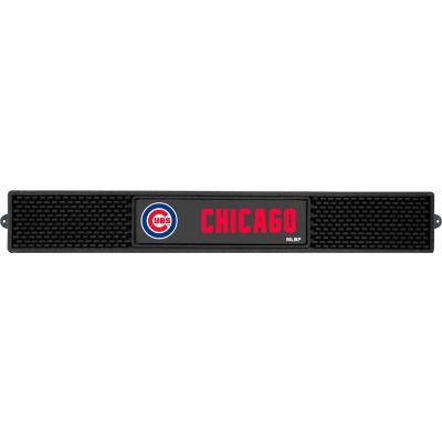 "FanMats Drink Mat, 14042, MLB - Chicago Cubs, 3-1/4"" x 24"" x 1"""