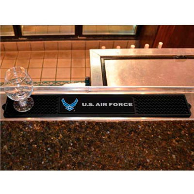 "FanMats Drink Mat, 15729, Military - U.S. Air Force, 3-1/4"" x 24"" x 1"""