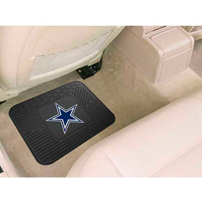 "NFL - Dallas Cowboys - Heavy Duty Vinyl Utility Mat 14"" x 17"" - 9999"